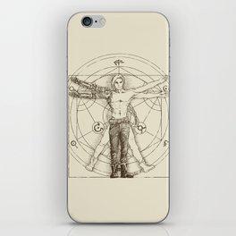 Vitruvian Alchemist iPhone Skin