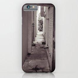 In Between iPhone Case