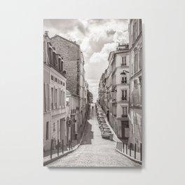Monmartre Paris Metal Print