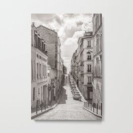 Monmartre Paris Metal Print