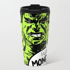 Hulk loves Monday Travel Mug
