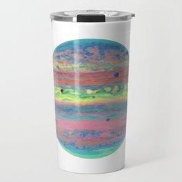 Triple Eclipse on Jupiter Travel Mug