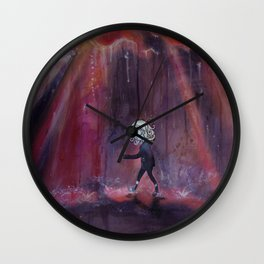 Out of Nowhere Wall Clock