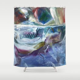 New World forming Shower Curtain