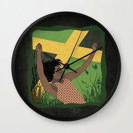 Raggae Man Wall Clock