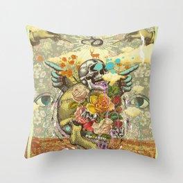 CANYON VISIONS Throw Pillow