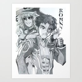Romny, The Dark Soldier Art Print