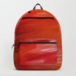 ORANGE SEASCAPE Backpack