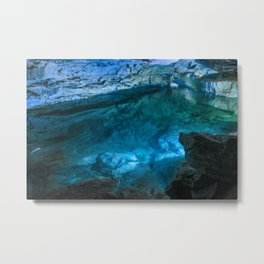 The underground lake Metal Print