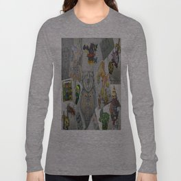 Collage Doodles Long Sleeve T-shirt