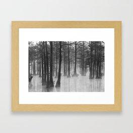 Adams Mill Pond 31 B&W Framed Art Print