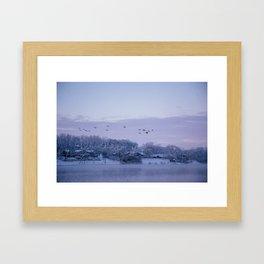 Winter in Illinois Framed Art Print