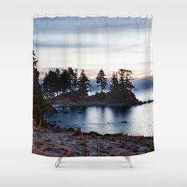 Spruce Cape Photography Print Shower Curtain