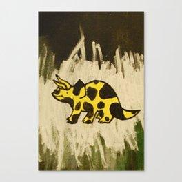 Triceraspot Canvas Print