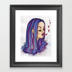Sinking in Love Framed Art Print