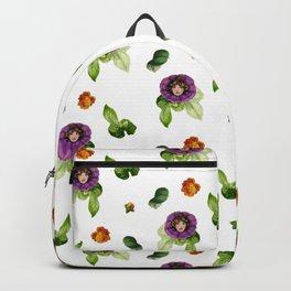 Bloomin' Heck Brunette Backpack