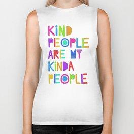 Kind People are My Kinda People Biker Tank