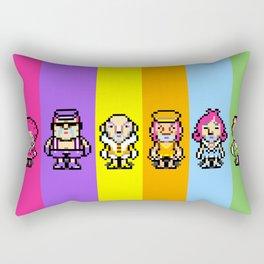 The Magypsies (Aeolia, Doria, Lydia, Phrygia, Mixolydia and Ionia) - Mother 3 Rectangular Pillow