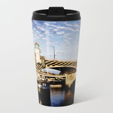 Bridge - Portland Ore Metal Travel Mug