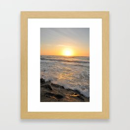 Morning Sunrise Framed Art Print