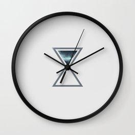 Spacetime Wall Clock