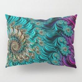Aqua Swirl Pillow Sham