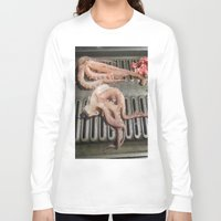 squid Long Sleeve T-shirts featuring Squid by Guice Mann