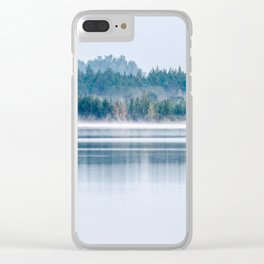 Morning begins with mist Clear iPhone Case