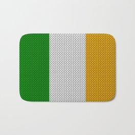 Flag of Ireland - knitted Bath Mat