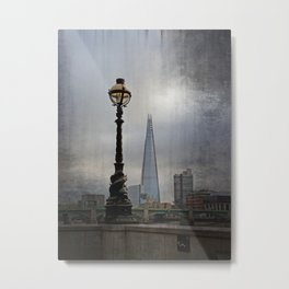 Dolphin Lampposts of London Metal Print
