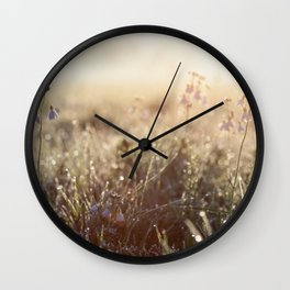 Cold morning Wall Clock