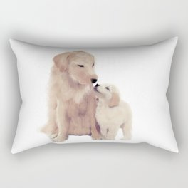 Golden retrievers Rectangular Pillow