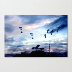Eroberer der Lüfte. Canvas Print