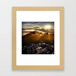 SMOKEY MOUNTAIN - 160918/1 Framed Art Print