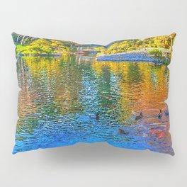 Painted Pond Pillow Sham