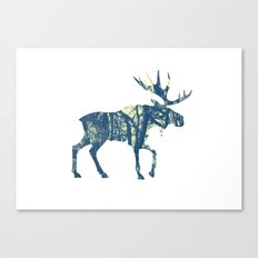 Moose Two Canvas Print