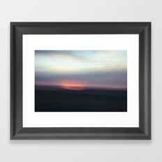 Utah Skies Framed Art Print