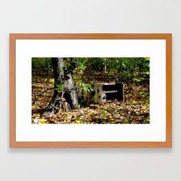 fridge Framed Art Print