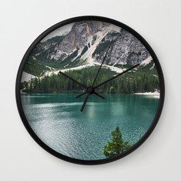 Mountain Adventures Wall Clock