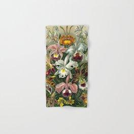 Vintage Orchid Floral Hand & Bath Towel