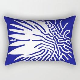 Ferrofluid art series, 2nd out of 3 works total Rectangular Pillow