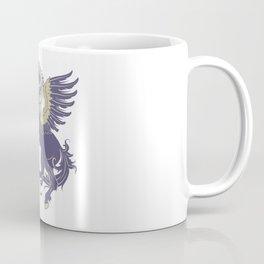 Blue Rearing Pegasus Coffee Mug