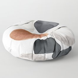 Abstract World Floor Pillow