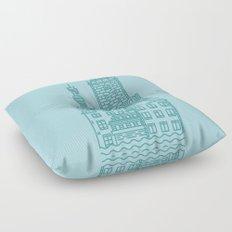 Stockholm (Cities series) Floor Pillow