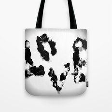 Love in Black & White Tote Bag