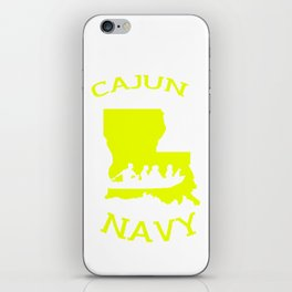 Cajun Navy Shirt iPhone Skin