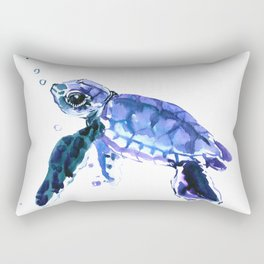 Cute Baby Turtle Rectangular Pillow