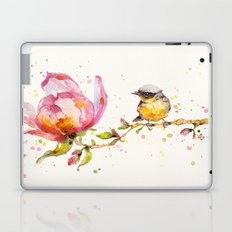 Magnolia & Buddy Laptop & iPad Skin