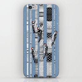 Woodpeckers iPhone Skin