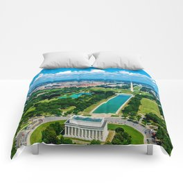 DC from Above Comforters